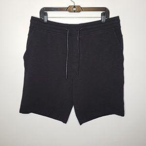 Lululemon Men's Black Sweat Shorts Size XL
